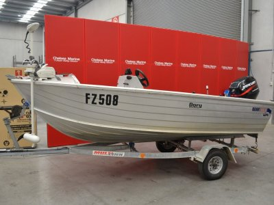 Quintrex 420 Dory Wide Body [powered with 40HP Mercury 4 Stroke $11250.00