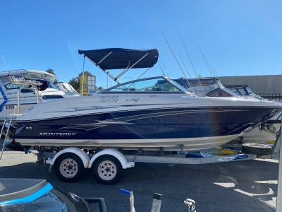 Monterey Explorer 220 READY FOR FAMILY FUN LOW HOURS BOAT FORSALE- Click for more info...