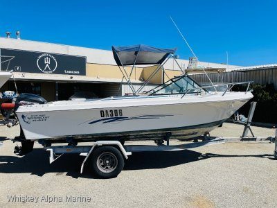 Western Craft 540 Runabout Tidy with a 4 Stroke