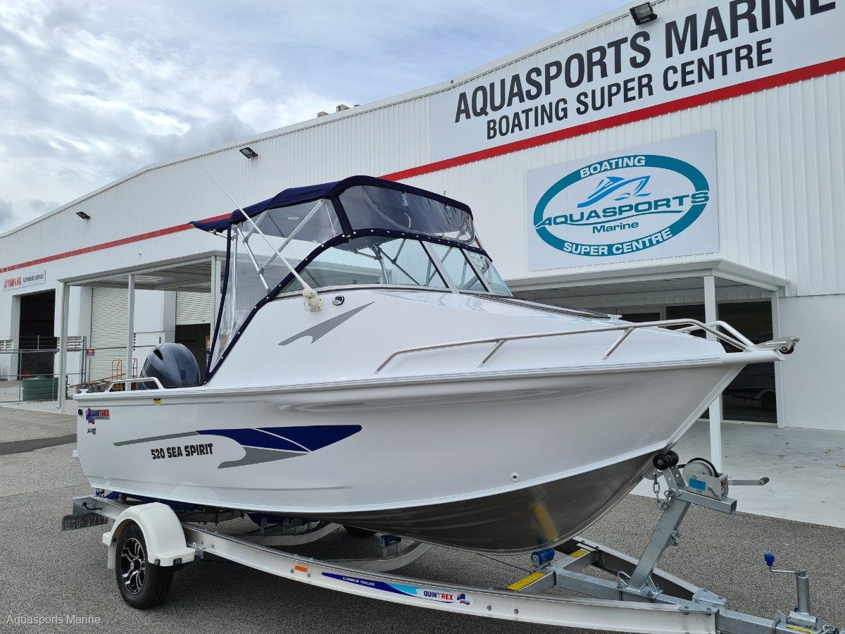 New Quintrex 520 Sea Spirit