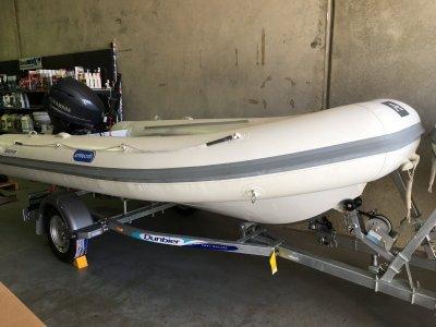 Aristocraft Searover 4.2 INFLATABLE RIB ALLOY HULL 30HP YAMAHA