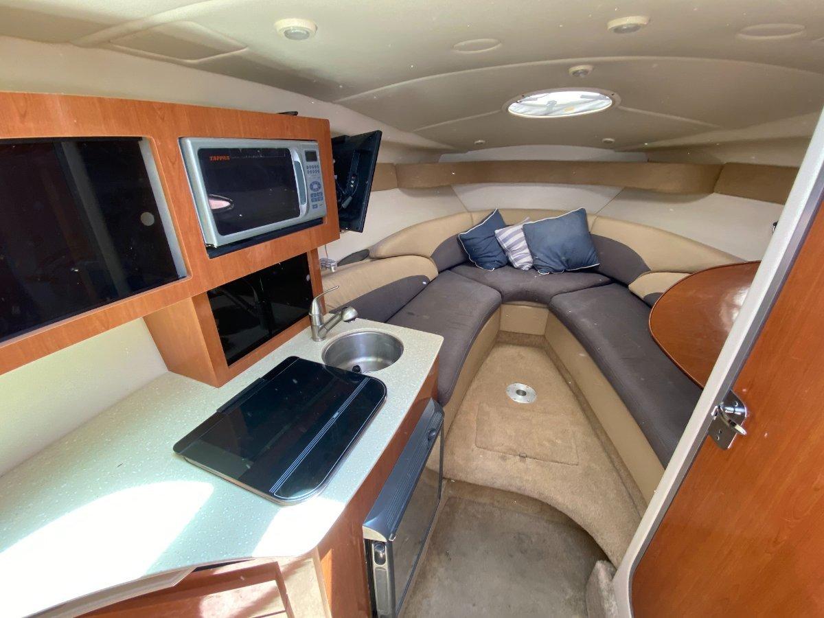Maxum 2600 SE Sports Cruiser:Tasteful interior