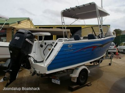 Trailcraft 540 Freestyle 2006 Mercury 90hp four stroke
