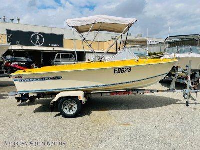 Haines Hunter V146 runabout With a 4 Stoke