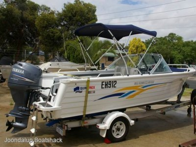 Quintrex 530 Freedom Sport 2009 with 244 hours