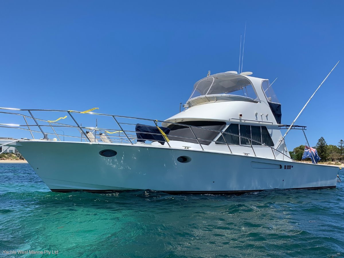 Precision 45 Flybridge Cruiser:PRECISION 45 by  YACHTS WEST MARINE ph 9335 7788