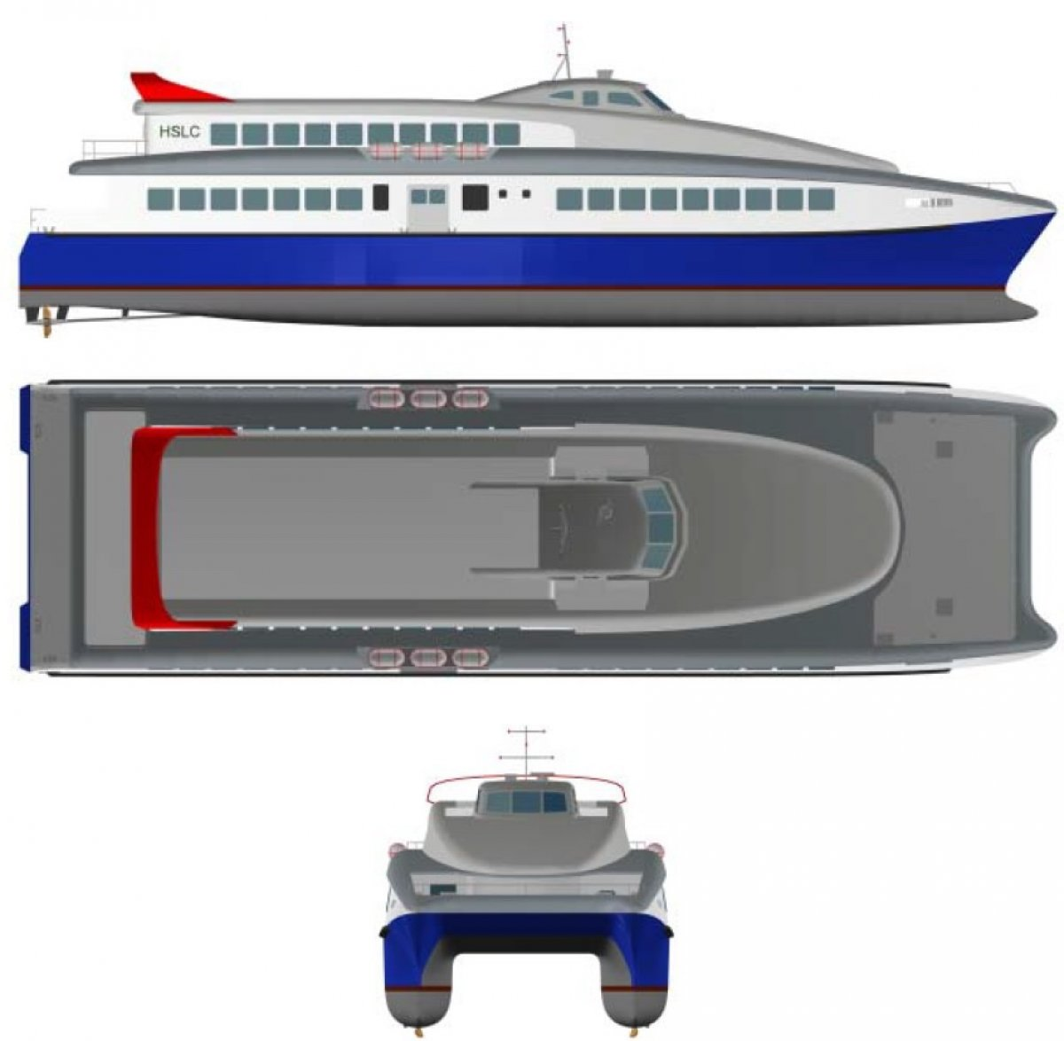 40m Offshore Ferry