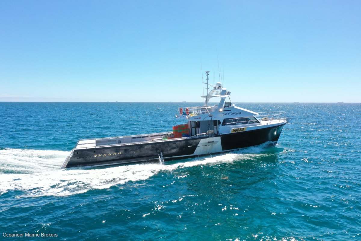 Xtreme Marine 23.95 Purpose Built Crayfishing Vessel by Southerly Design