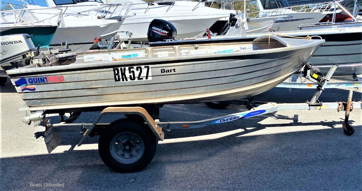 Quintrex 370 Dart READY FOR A NEW HOME