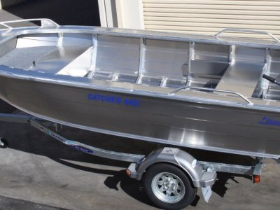 Stessco Catcher 409 Open Boat