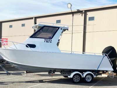 Trailcraft 670 || HARDTOP DELUXE GREAT FISHING BOAT