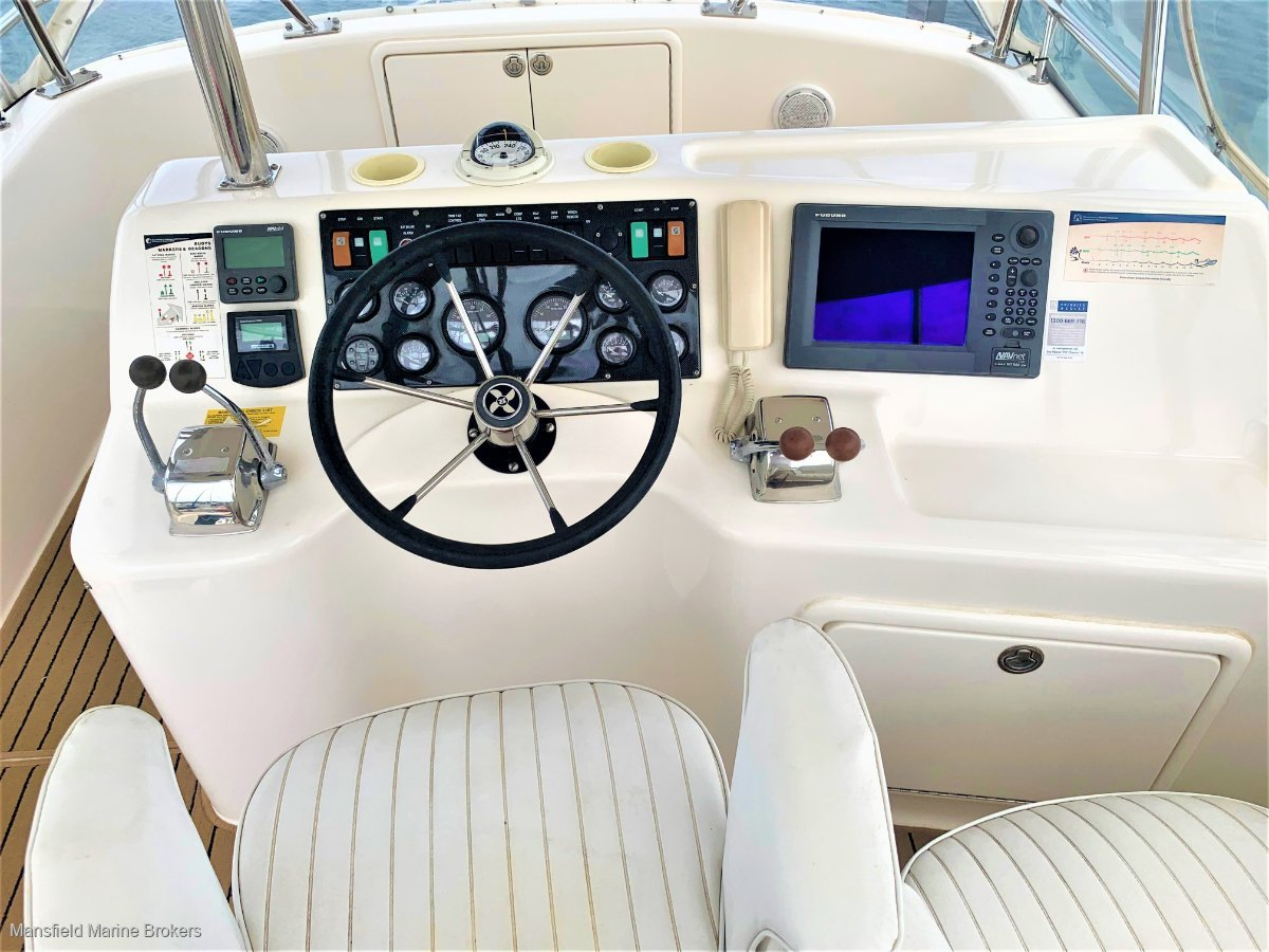 Riviera 36 Platinum Dual cab