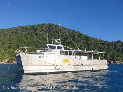 Aluminium Commercial Catamaran