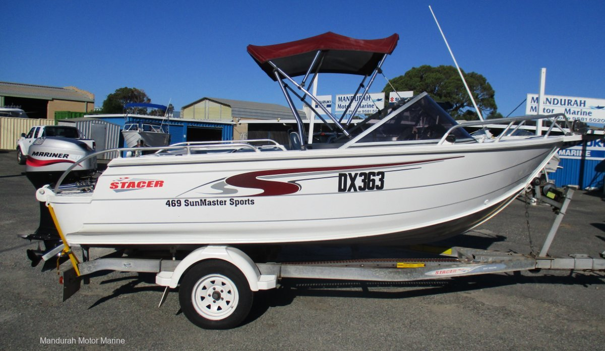 Stacer 469 Sun Master Sports