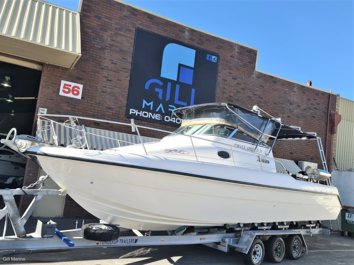 Gulf Craft Walkaround 31 AWESOME OFFSHORE FAMILY, FISHING BOAT FORSALE