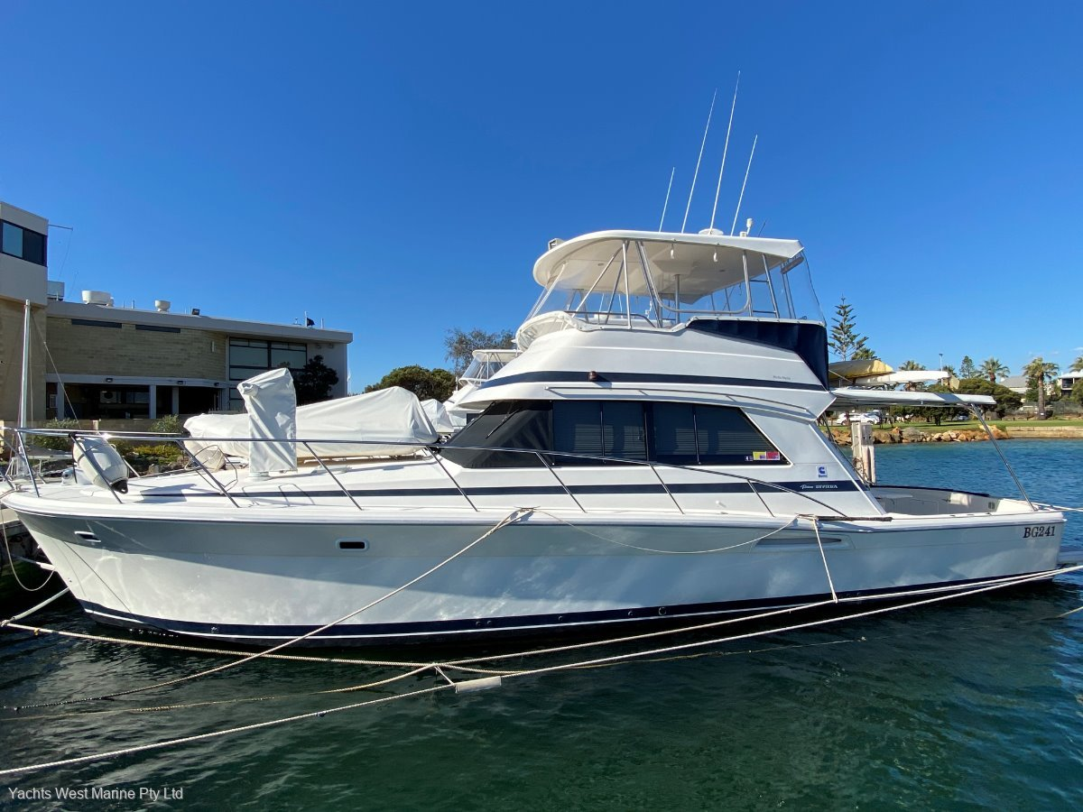 """Riviera 43 Open Flybridge """" Extended Hull to 45 foot """":RIVIERA 43 by YACHTS WEST MARINE ph 9335 7788"""