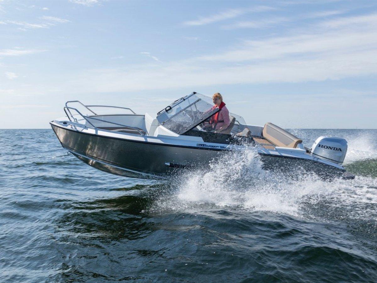 Silver Boats Hawk BR ALUFIBRE