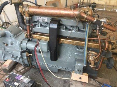 Gardner Diesel Engine
