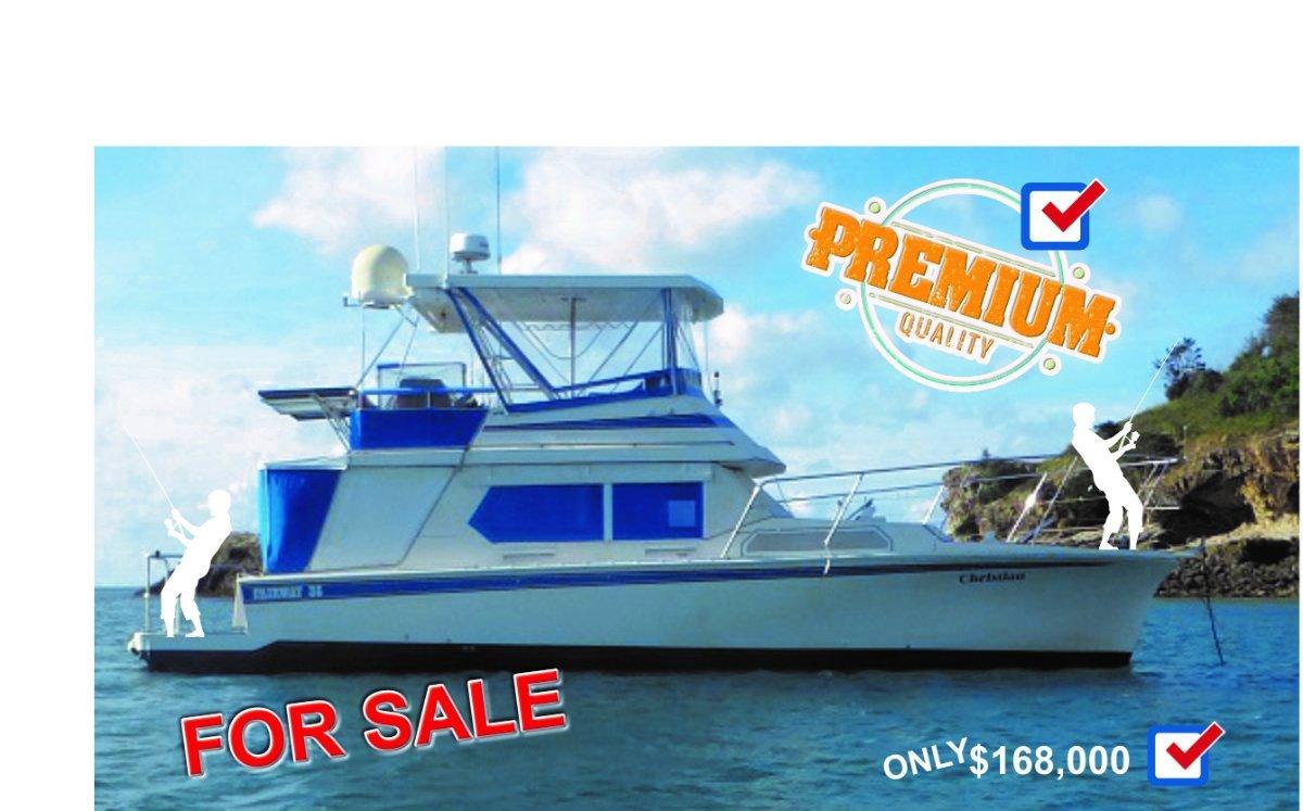 Fairway 41 Flybridge Cruiser