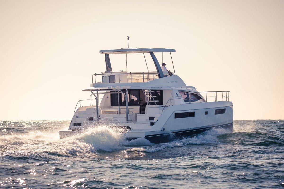 Leopard Catamarans 43