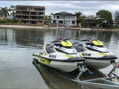 Sea-Doo RXT RXT 300 RS x2 plus Tandem Trailer