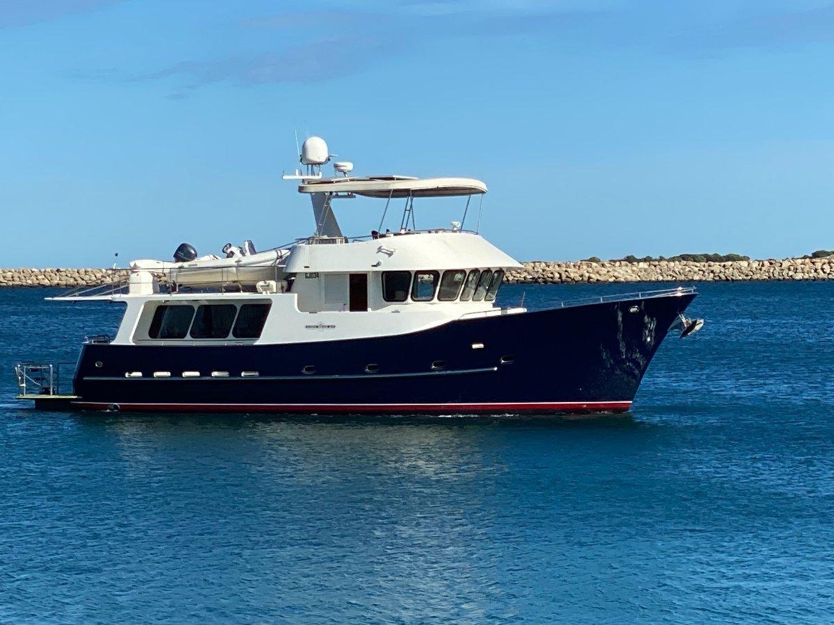 "High Seas 64 Explorer "" 2500nm Range "":HIGH SEAS 64 by YACHTS WEST MARINE ph 9335 7788"