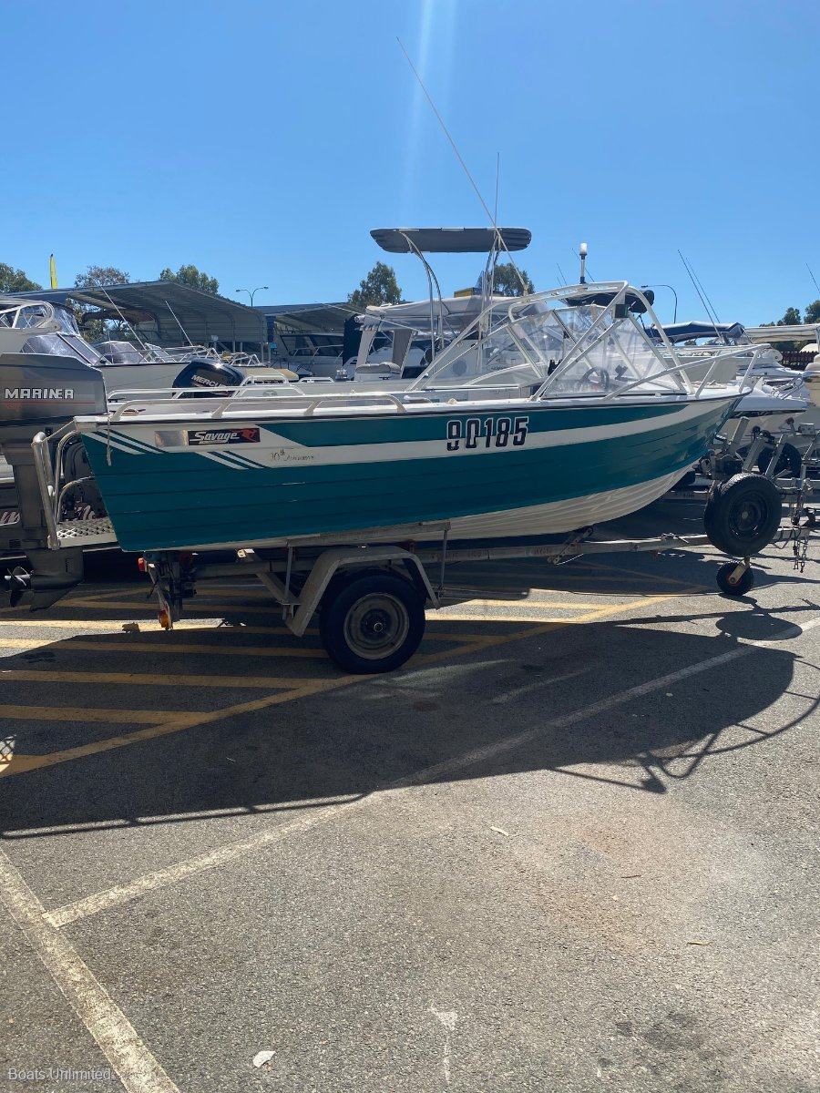 Savage 460 Runabout WITH A BIG 60HP FOR HEAPS OF PULL / PUSH
