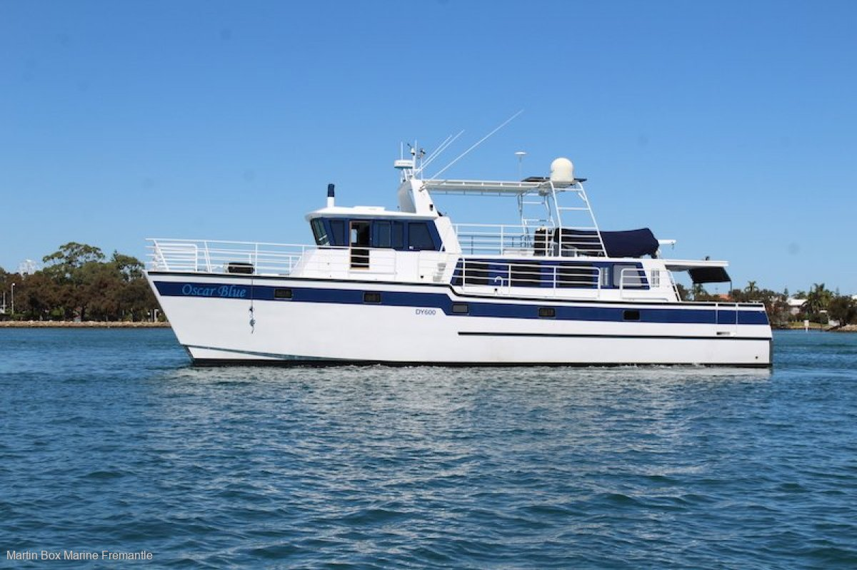 Brady 17.2m Expedition Power Catamaran