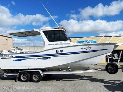 Sea Rider 750 Walkaround HardTop FANTASTIC OFFSHORE FISHING RIG WITH TWIN 4 STROKES