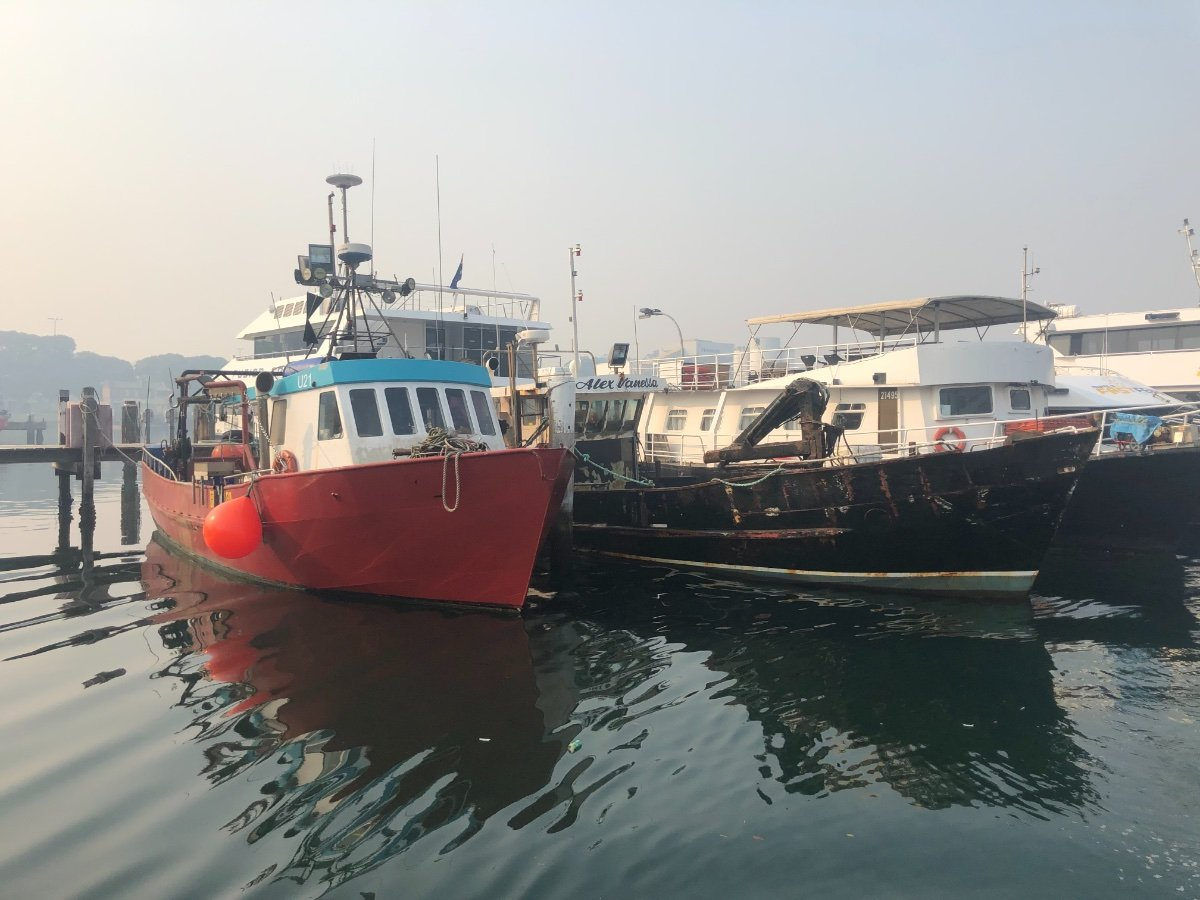 15m steel fishing boat