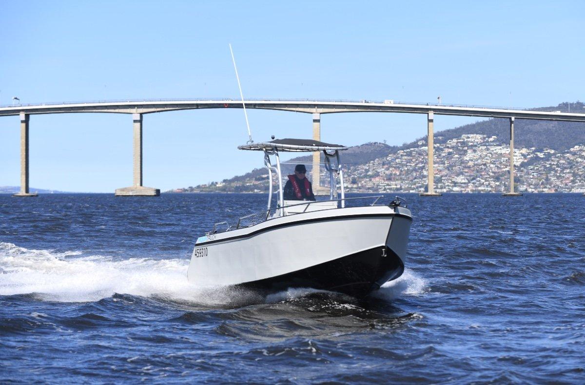 Aquatruck Bullshark 5.5 New build. Ready for fit out