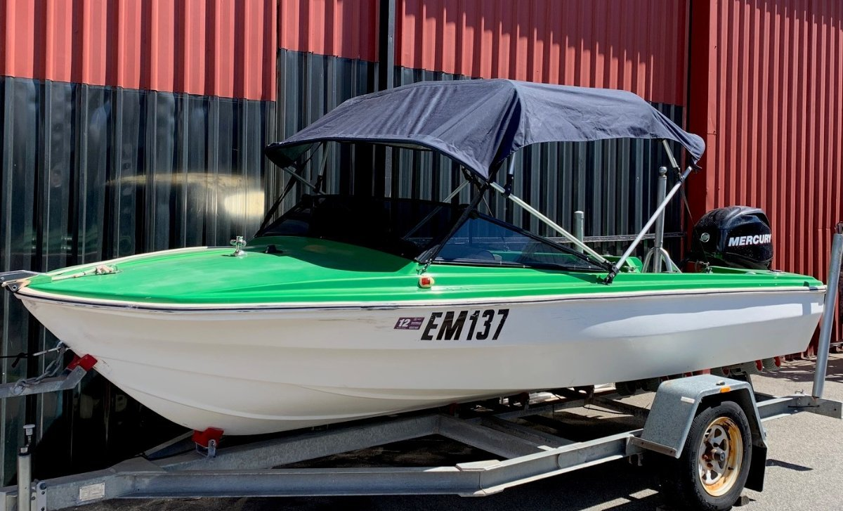 Voyager Runabout with 2012 40hp Mercury 4stroke Outboard