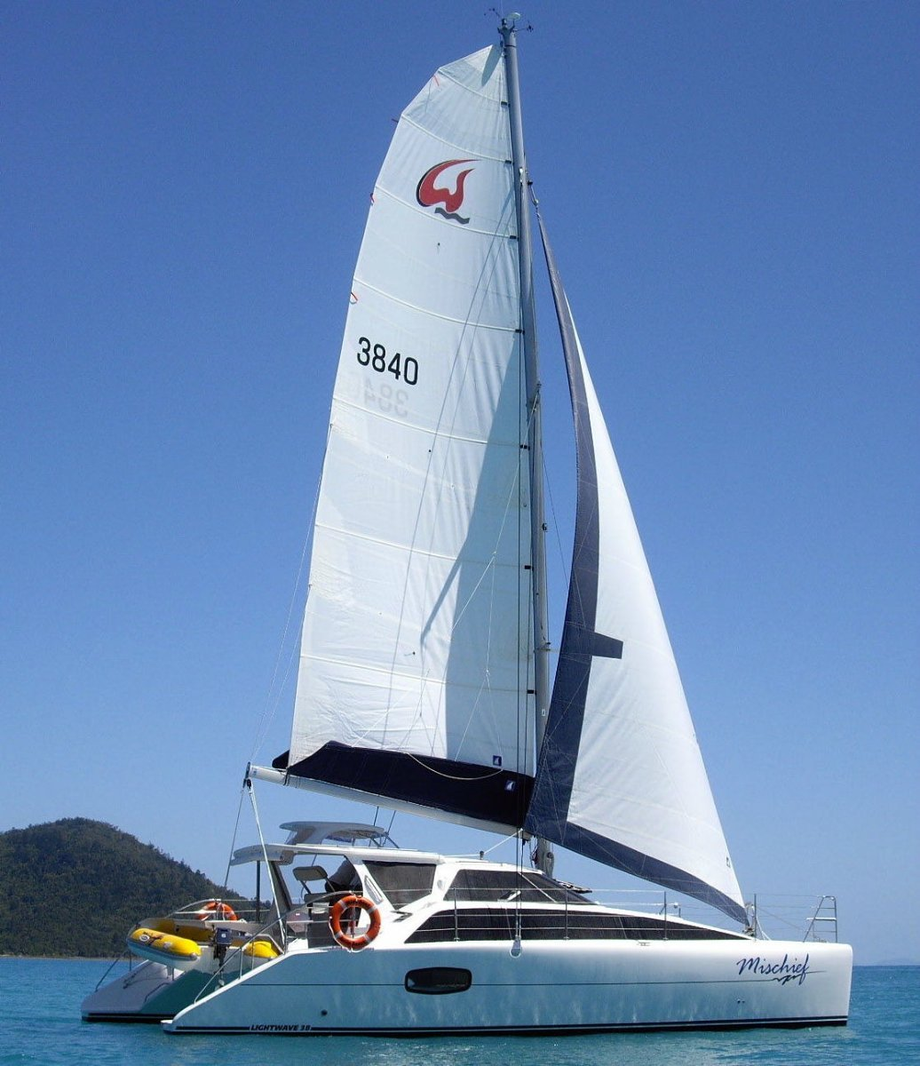 Lightwave 38 Whitsunday Bareboat 4yr contract:Mischief 38 Lightwave