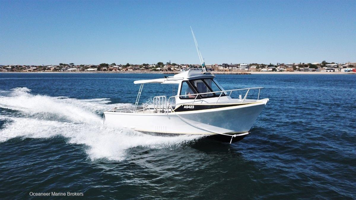 GBB Aluminium Fishing Boat JET POWERED
