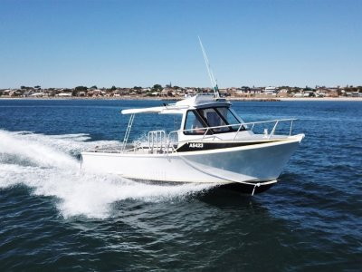 GBB Aluminium Fishing Boat JET POWERED