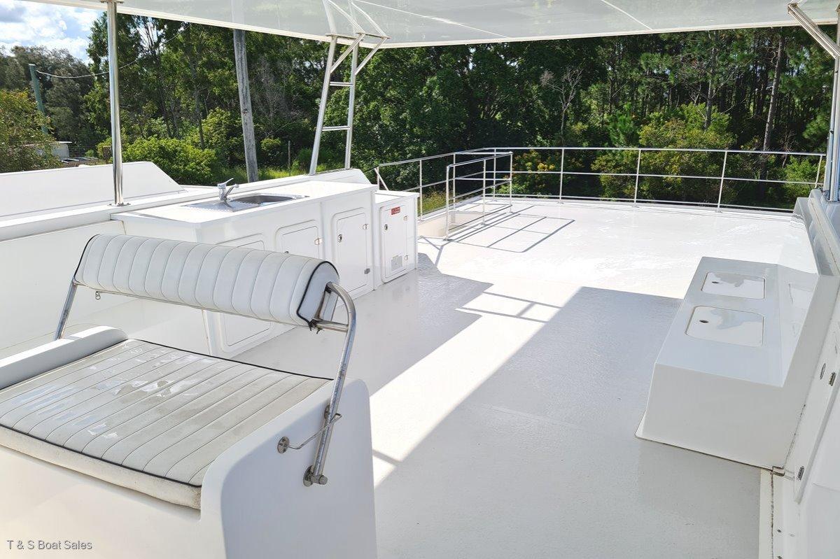 New Eagle Catamaran 45 Houseboat