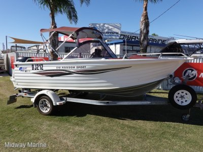 Quintrex 510 Freedom Sport Bow Rider