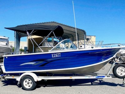 Quintrex 570 Freedom Cruiser BOW RIDER FITS THE LARGER FAMILY