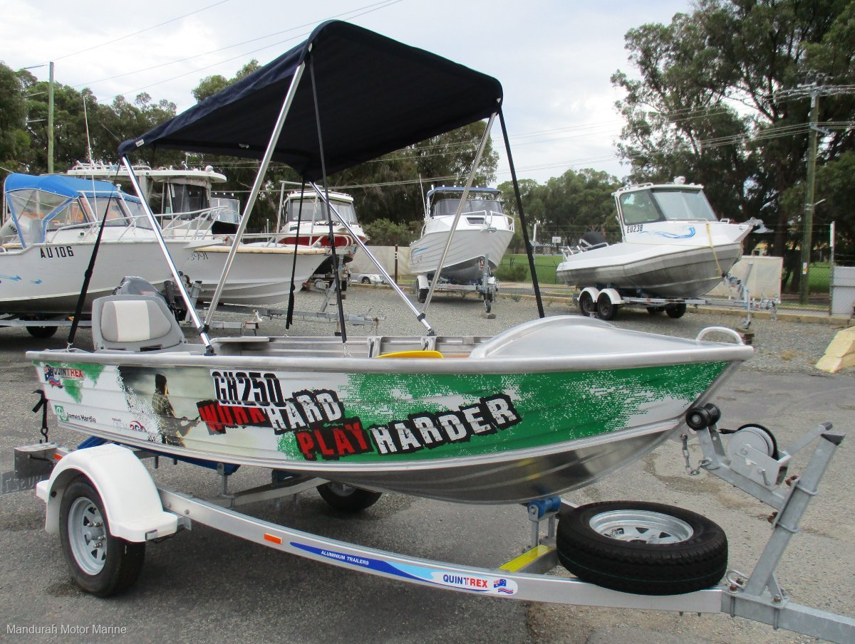 Quintrex 370 Dart - THE COMPLETE TINNY PACKAGE!!