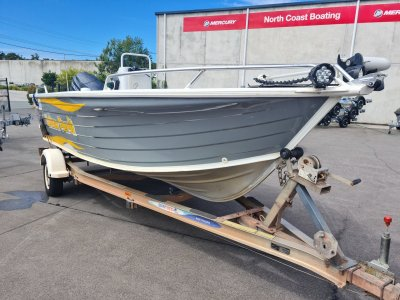 Quintrex 520 Top Ender with 100hp Yamaha