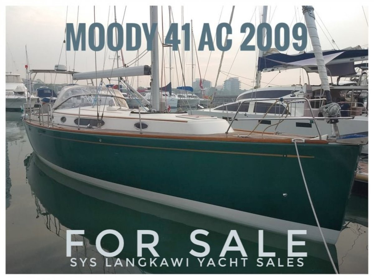 Moody 41AC Sailing boat for sale in Langkawi, Malaysia:Moody 41AC for sale in Langkawi