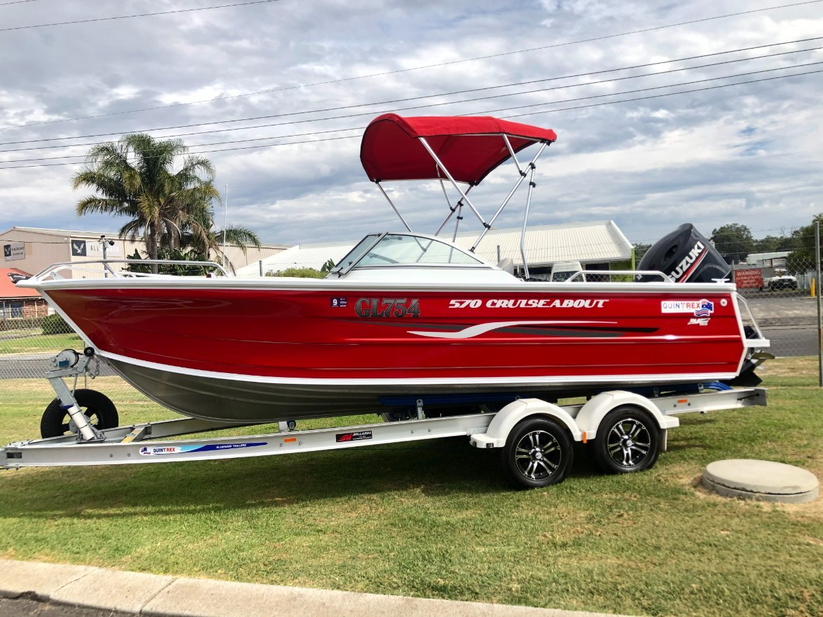 Quintrex 570 Cruiseabout