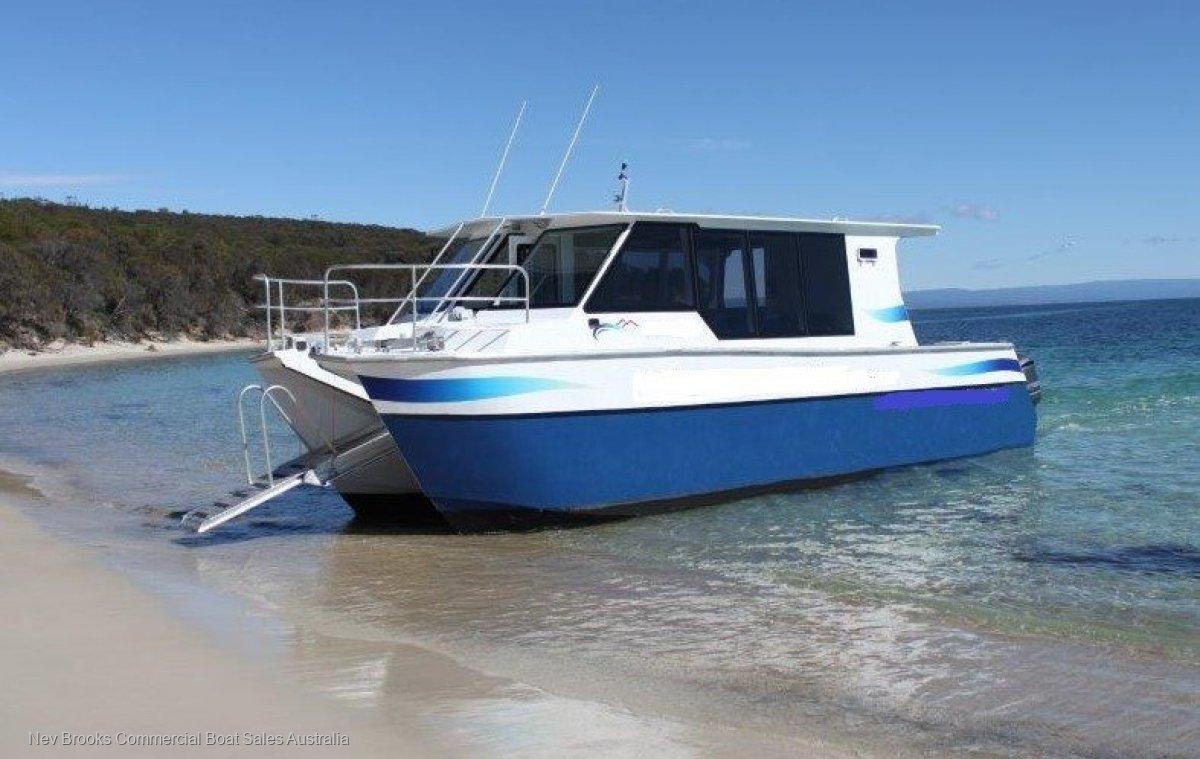 Aluminium Crew Transfer / Tour Catamaran