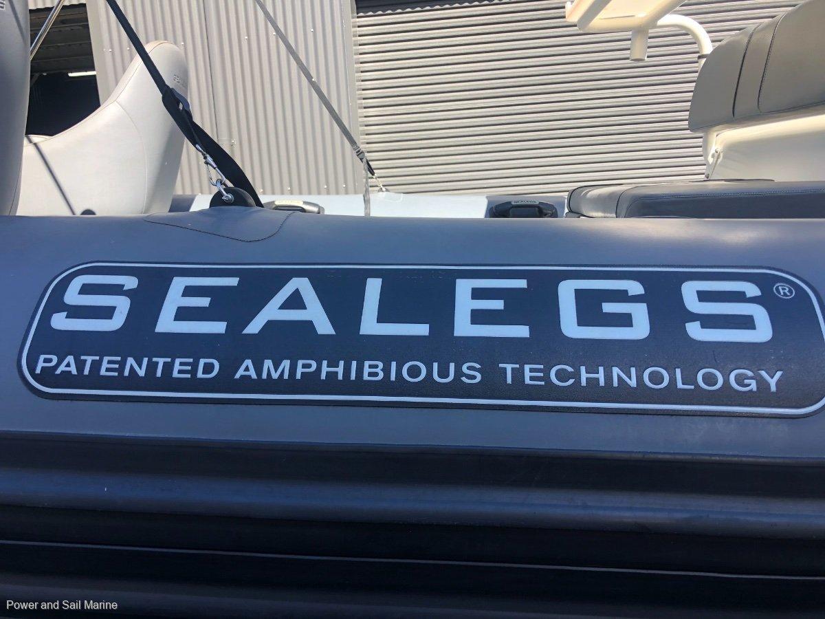Sealegs 7.7 Wide Console RIB A rare opportunity