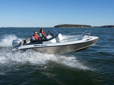 Silver Boats Beaver BR ALUFIBRE