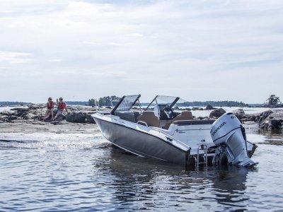 Silver Boats Fox Br