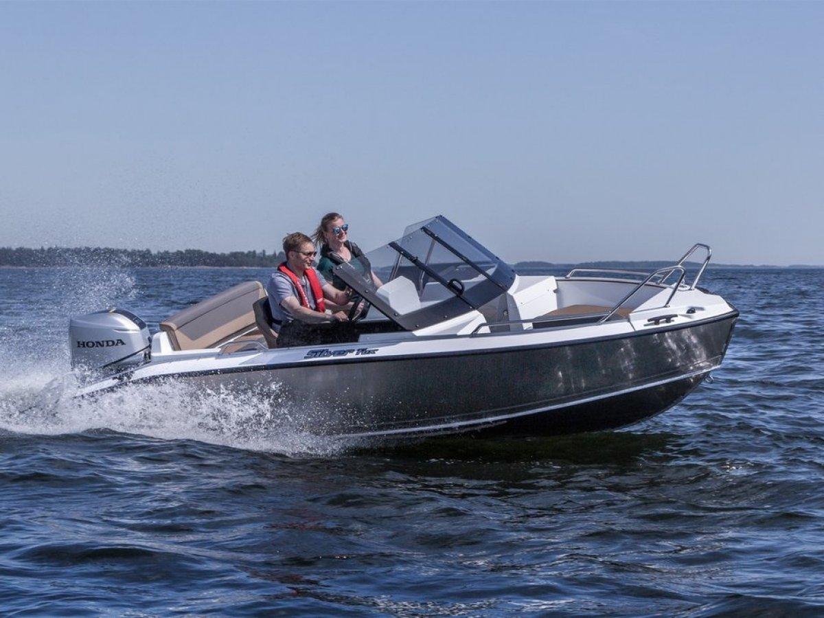 Silver Boats Fox BR ALUFIBRE