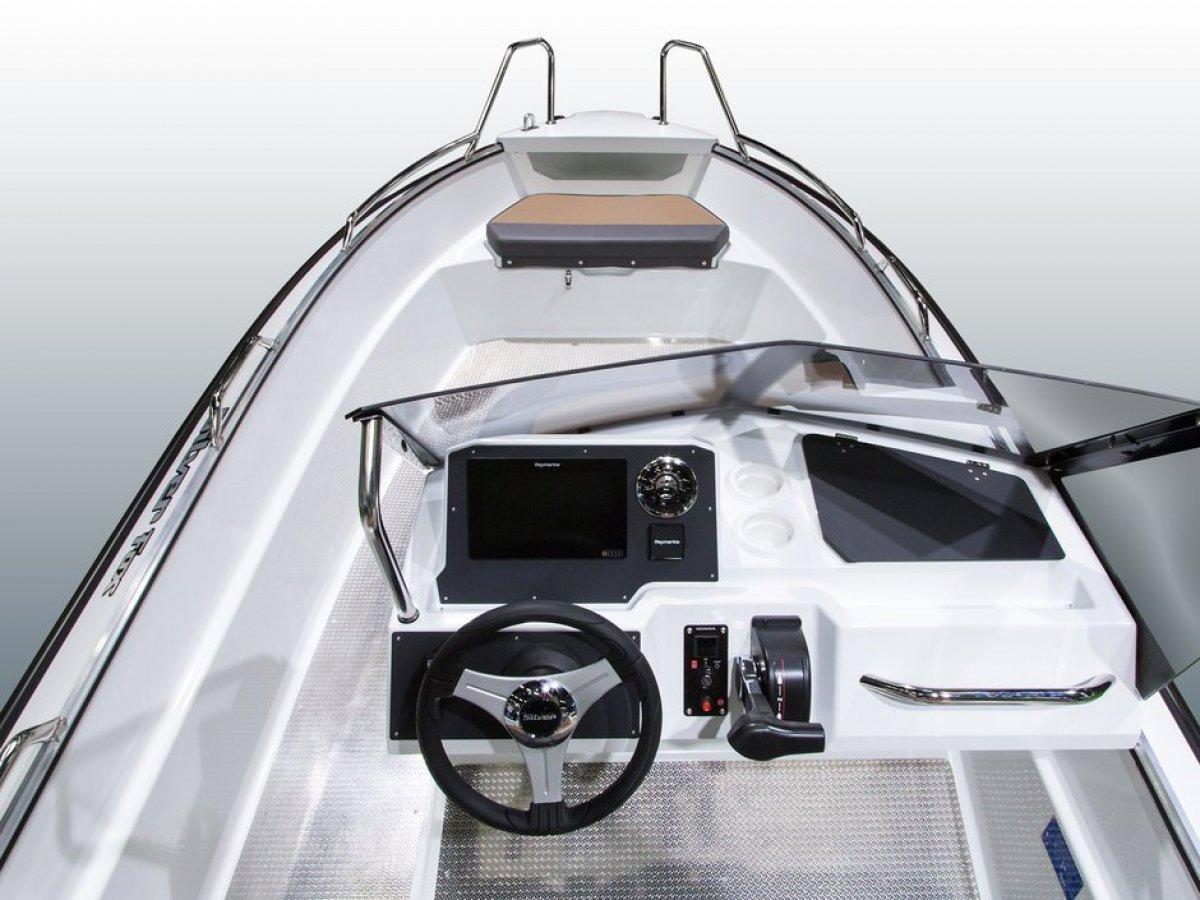 Silver Boats Fox Avant ALUFIBRE