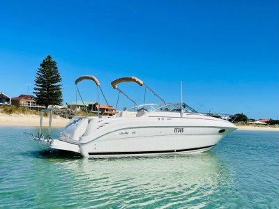 Sea Ray 245 Weekender New Manifolds and Risers, recently serviced