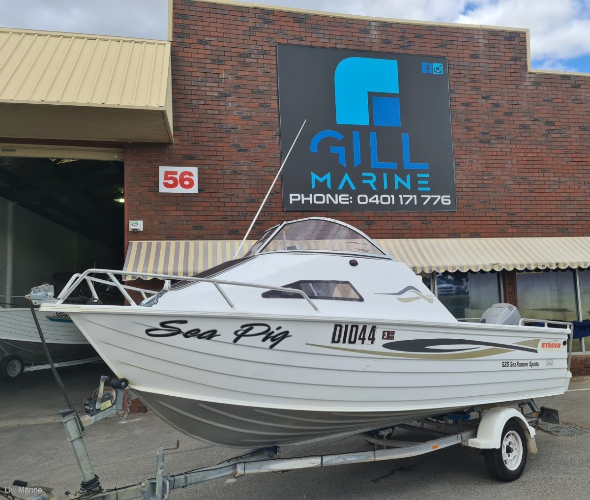 Stacer 525 Sea Runner Sports GREAT FIRST FAMILY / FISHING BOAT !!!